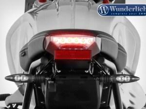 Modificación de colín »SWING« con soporte para luz trasera original