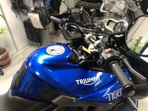 TRIUMPH TIGER 800 XR X   2016   36.000 KM