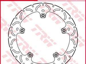 Disco de freno TRW MSTR256RAC