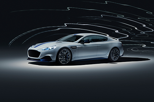All Electric Aerodynamic Aston Martin Rapide E Powered By Integral e-Drive