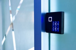 keycard access control door lock