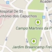 Localização do Palácio Centeno