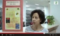 Mercedes Justo, Trabajadora de la Biblioteca José Hierro