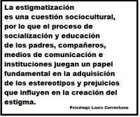 Frase 2 sobre estigmatización.