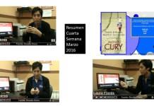 Resumen Cuarta Semana Marzo 2016