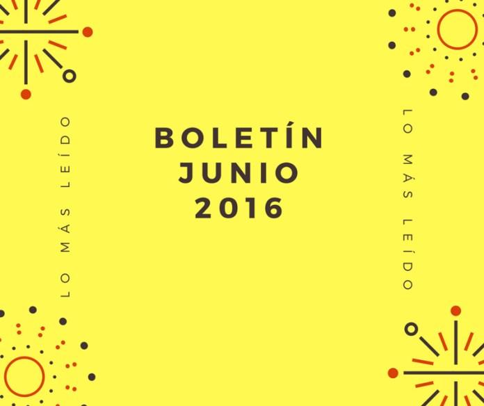 Boletín Junio 2016