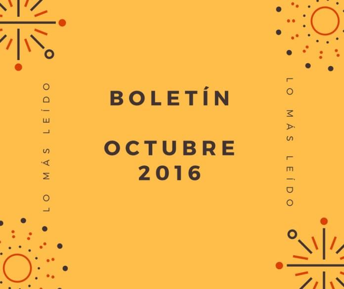 Boletín Octubre 2016