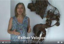Vídeo sobre escultura de Esther Velayos