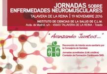 Cartel Jornadas Enfermedades Neuromusculares