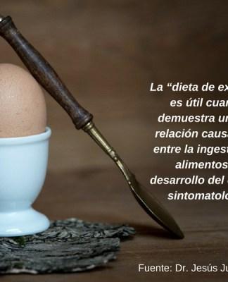 Dieta de exclusión.