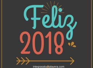 Lo más leído. Feliz 2018. Te desea Integra Salud Talavera, Tu Revista Online sobre Salud en España