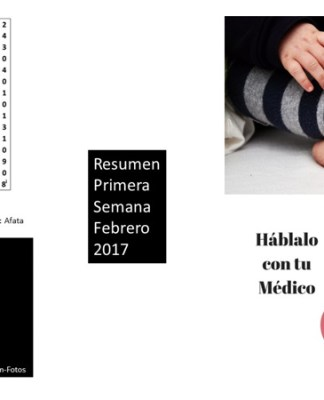 Resumen Primera Semana Febrero 2017