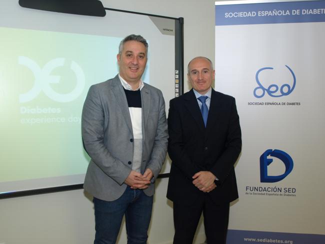 Ángel Ramírez y el Dr. Fernando G. Peralta
