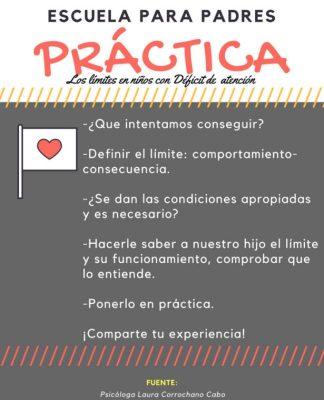 Practica- Los límites en niños con TDA