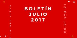 Boletín Julio 2017