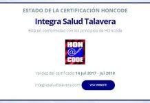 Certificado Hon
