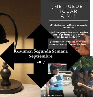 Resumen Segunda Semana Septimbre 2017