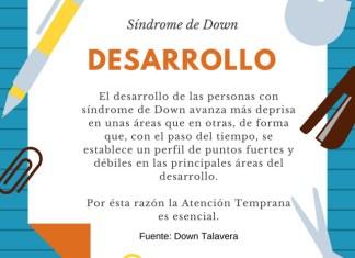 Desarrollo síndrome de Down