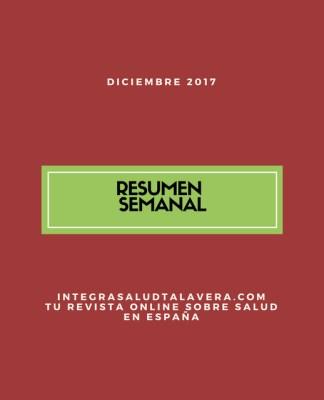 Resumen Primera Semana Diciembre 2017