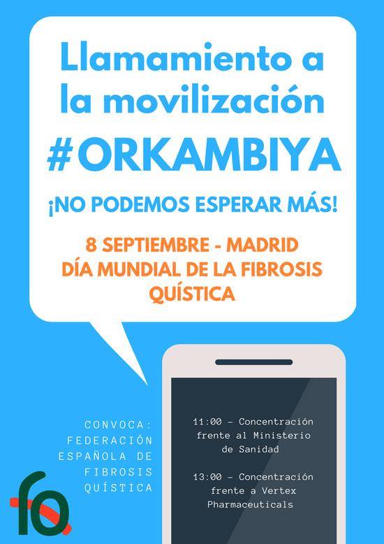 #ORKAMBIYA para las personas con Fibrosis Quística.
