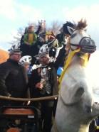 IMG_2471 Carnaval Wijchen Paard met raad