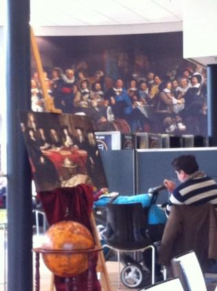 'Dutch masters' in one of the Keukenhof restaurants