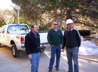The IWS Team (left to right) Jay Alman, Dave Patton, and Dale Hemstad