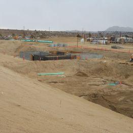 Concrete Wastewater treatment basin
