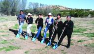 Ground breaking ceremony with Pueblo leaders