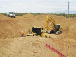 IWS Wastewater Project Excavation