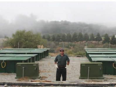 A proud operator - Maurice Cornblatt (Santa Cruz County PWD)