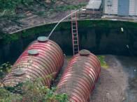 aeration basin installation