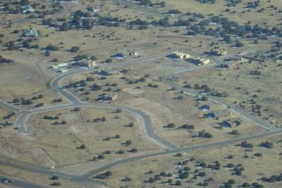 Aerial view of the La Pradera Development