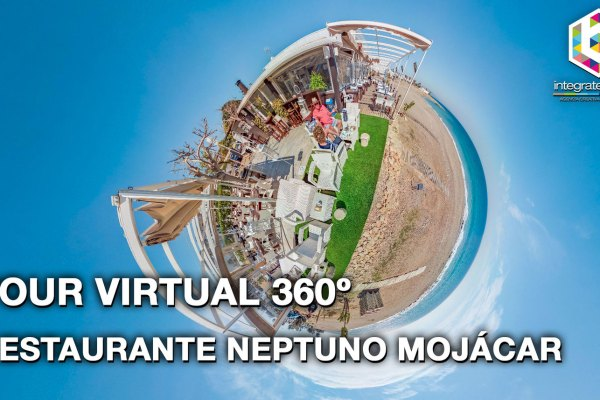 Tour Virtual 360º del Restaurante Neptuno Mojácar