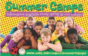 summer camp miami dade college integrate news campamentos verano
