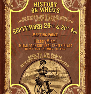 History on wheels miami en bicicleta integrate news brickell turtle flagler