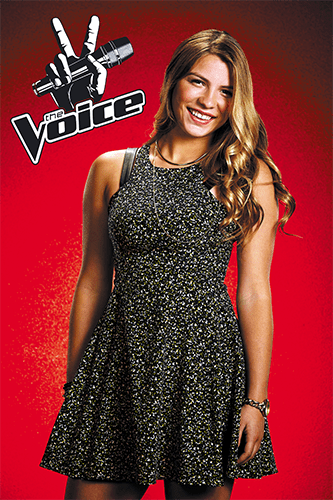 Fernanda Bosch integrate news miami venezuela the voice blind auditions 2014