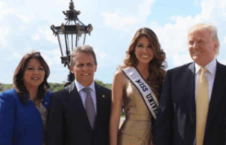 Miss Universe Doral FIU press conference donald Trump maria gabriela isler luigi boria 01