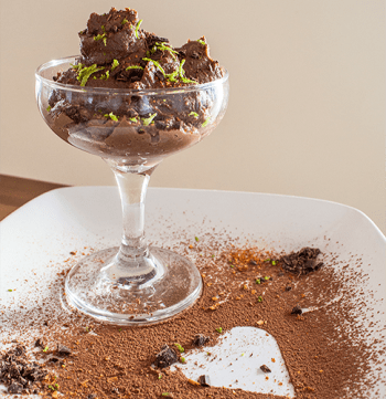 vegan cook integrate news miami salvatore lucherino mousse chocolate