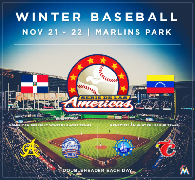 Winter Baseball Marlins Park Integrate News