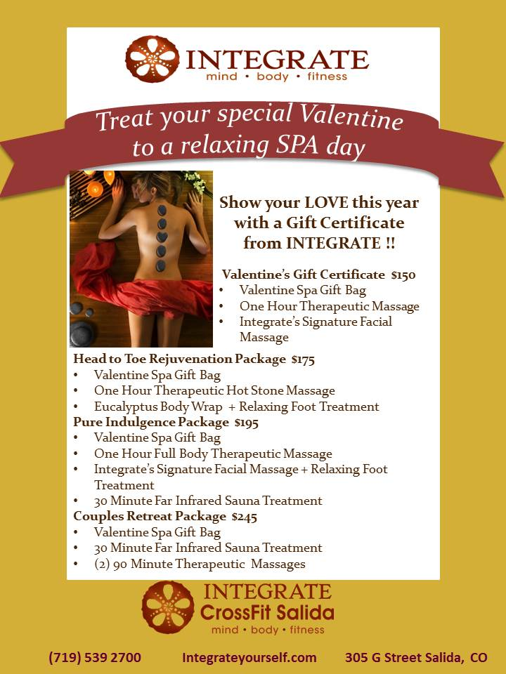Integrate Wellness Center Spa Yoga In Salida Colorado