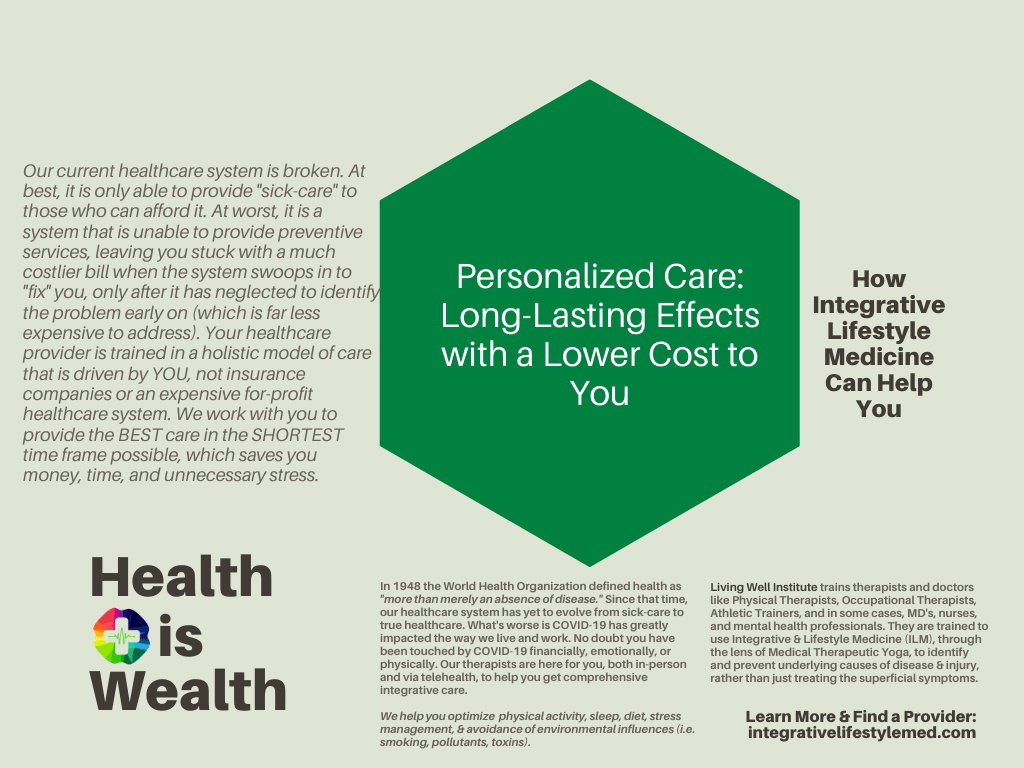 Personalized Care - Living Well Institute