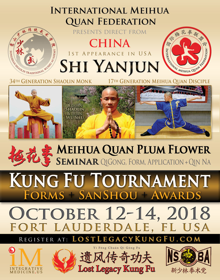 Acupuncture Tai Chi Qi Gong Seminar Ft Lauderdale Oct 2018