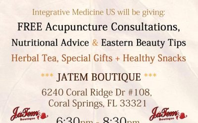 Jatem Boutique Parkland Acupuncture Holiday Event