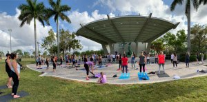 Yoga Parkland Tai Chi Class with Acupuncturist Mental Health Awareness