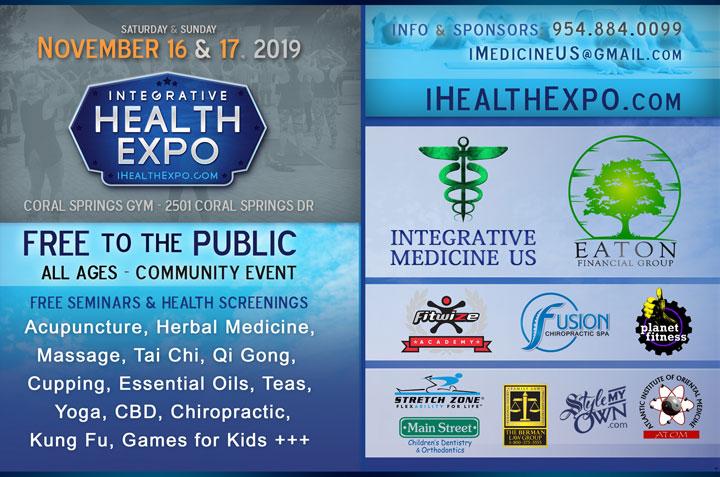 integrative health expo coral springs 2019