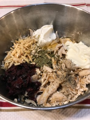 Thanksgiving Chicken Salad 2
