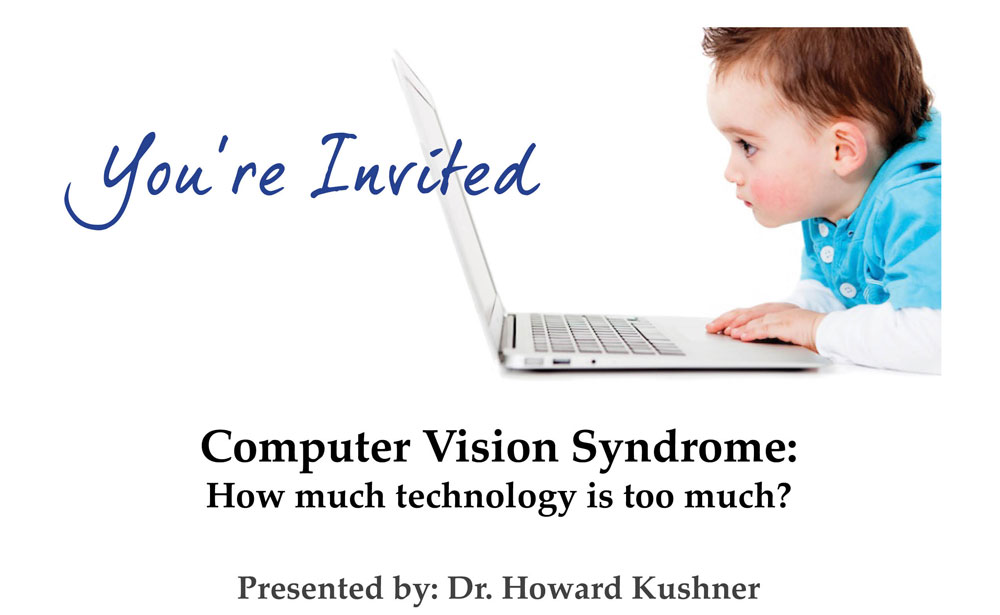 Upcoming Event: Computer Vision Syndrome