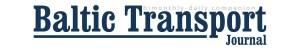 Baltic Transport Journal