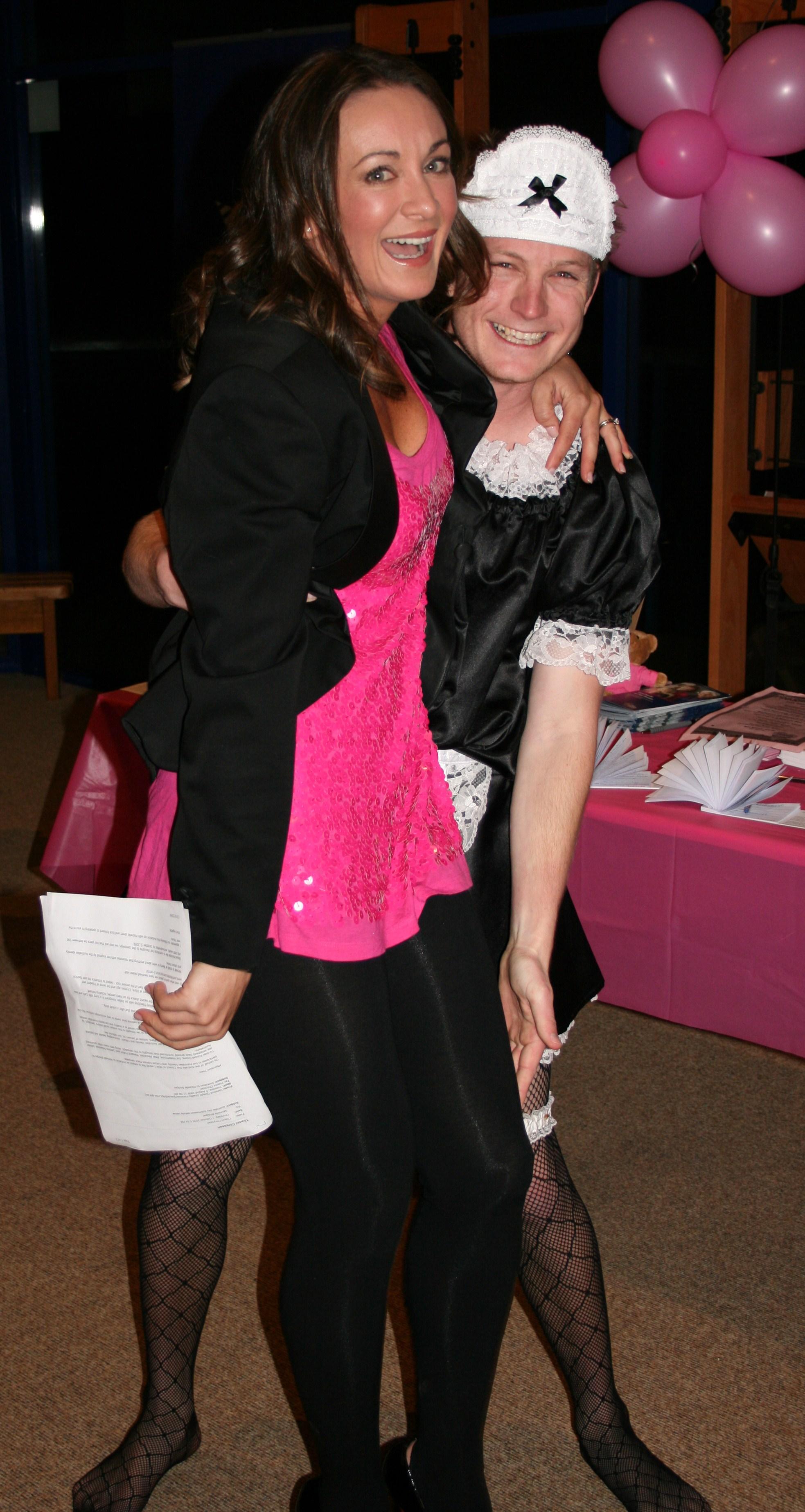 Michelle Bridges and Josh 123